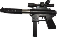 lifestylesection SKORPION PUBG GAMING TOY GUN FOR KIDS WITH LASER (BLACK)(Black)