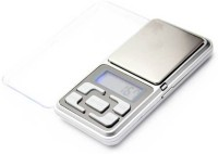 Zelenor High Precision Jewellery Weight Machine With 200g Capacity & Blue Backlite Portable Weighing Scale(Silver)
