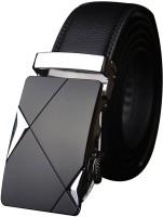 Satyam Kraft Boys Black Artificial Leather Belt