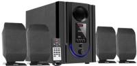 Intex IT-301 FMUB 4.1 Wooden Subwoofer Multimedia Speaker with Bluetooth/USB/FM/AUX(Black) 4.1 Home Cinema(DVD)