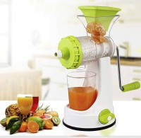 Incredible Quick Master Non-Electric juicer for fruits and vegetables 0 W Juicer(Green, 1 Jar)