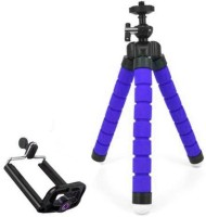 Poblic Fully Flexible Foldable Octopus Mini Tripod Stand for Mobile Camera , DSLR , Smartphone & Action Cameras Tripod(Multicolor, Supports Up to 500 g)