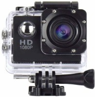 TECBASKET Ultra HD 1080P Sports Action Camera with Rechargeable Batteries Sports and Action Camera(Black, 12 MP)