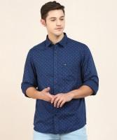 Arrow Sport Men Printed Casual Blue Shirt
