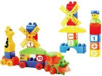 Miss & Chief Toddler 40 Pcs School Bag Building Blocks Set For Kids / Children(Multicolor)