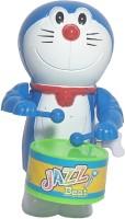 Little DORAEMON PLAYING DRUM (Wind up Toy)(Blue)