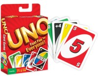 Fun time UNO Family Card Game Complete Pack Of 108 Cards(Multicolor)