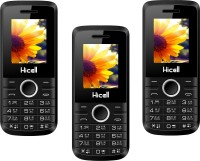 Hicell C1 Nova Combo of Three Mobiles(Black&Green$$Black&Yellow$$Black&Grey)