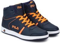 Fila SABURO SS 19 High Tops For Men(Blue, Orange)