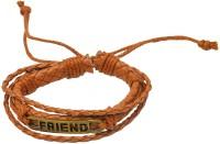 Men Style Leather, Bronze Bracelet