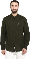 Red Tape Men Solid Casual Green Shirt