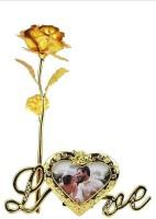 Royle Katoch Artificial Flower, Photoframe, Showpiece Gift Set
