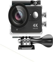 ABC WARRIORS NEW Ultra HD Action Camera 1080P 4K Video Recording Go Pro Style Action camera With Wifi 16 Megapixels Sports NF07 Sports & Action Camera(Black)