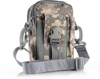 UNIGEAR Tactical Molle Pouch EDC Utility Gadget Belt Waist Bag, Camping Hiking Outdoor Gear Cell Phone Holster Holder EDC Molle Pouch With Strap - ACU(Grey)