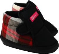 im baby Boys & Girls Velcro Casual Boots(Black)
