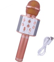 MEMOTA Ws-858 Karaoke Wireless, Handheld Singing Machine Condenser Mic and Bluetooth Speaker Microphone