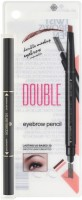 Hilary Rhoda Eyebrow Pencil with eyebrow Brush - Deep Black(Black)