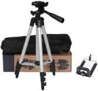Kumar Retail Portable & Foldable Camera & Mobile Tripod -3110 Tripod(Silver,Black, Supports Up to 3200 g)