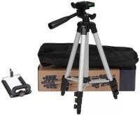 Kumar Retail 3110 Portable & Foldable Camera & Mobile Tripod Tripod(Silver,Black, Supports Up to 3200 g)