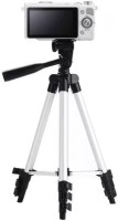 Kumar Retail Camera Tripod with Mobile Clip Holder for All DSLR Cameras and Smartphones- 3110 Tripod(Silver,Black, Supports Up to 3200 g)