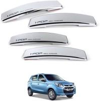 I Pop Plastic Car Door Guard(Silver, Pack of 4, Universal For Car, Alto 800)