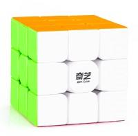 D ETERNAL Rubiks Rubix Rubic Cube 3x3 Warrior W 3x3 High Speed Stickerless QIYI Magic Puzzle Cube(1 Pieces)