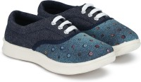 Miss & Chief Girls Lace Sneakers(Blue)