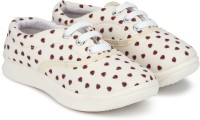 Miss & Chief Girls Lace Sneakers(Beige)