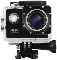Forestone 4K Ultra Hd 4K WiFi Action Sports Camera Sports and Action Camera(Black, 12 MP)