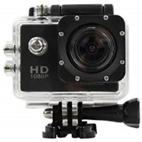 Zeom Action Shot HD 1080P Waterproof Action Camera WIFI 170 Degree Wide Angle Sports and Action Camera(Black, 12 MP) Sports and Action Camera(Black, 12 MP)
