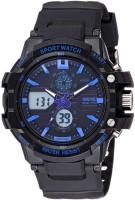 Skmei 0990BLU Rugged Analog-Digital Watch For Men