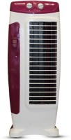 View Akshat Highspeed Tower Fan Oscillating Portable 25ft Air Throw Without Water Tower Air Cooler(Purple, White, 0 Litres)  Price Online