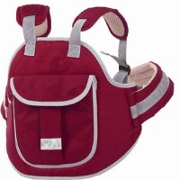 Chinmay Kids Children Motorcycle Safety Harness - Child ATV Ride Strap - Kids Vehicle Adjustable Safety Harness Strap for Two Wheeler Bike Snowmobile Horseback Riding Travel with Padded Strap Baby Carrier(Maroon, Back Carry)