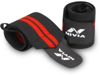 Nivia Weight Lifting Wrist Support (Pack of 2) Wrist Support(Black)