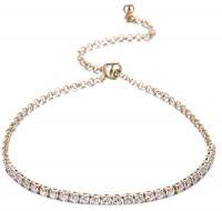 Romp Fashion Alloy Tennis Bracelet