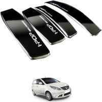 I Pop Plastic Car Door Guard(Black, Pack of 4, Tata, Indica Vista)