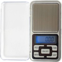 Zelenor Mini Portable Pocket Digital Kitchen and Jewellery Electronic 0.01 g (10 mg) To 200 Grams For Measuring Jewellery Weighing Scale(Silver)