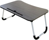 MemeHO BL Wood Portable Laptop Table(Finish Color - Black)