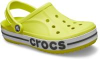 Crocs Men Citrus/Slate Grey Sandals