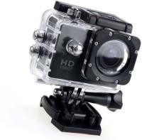 Zeom Action Shot 1080 Action Camera Go Pro Style Sports and Action Camera(Black, 12 MP) Sports and Action Camera(Black, 12 MP)