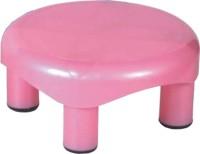 Kuber Industries Plastic Oval Bathroom Patla/Stool (Multi) Set of 1 Pc Stool(Multicolor)