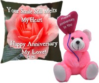 ME&YOU Cushion, Soft Toy Gift Set