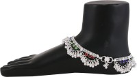 Charms Stylish Designer Ethenic Partywear Alloy Anklet(Pack of 2)
