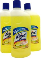 Lizol Disinfectant Surface Cleaner Citrus(1500 ml, Pack of 3)