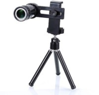 Goldtech Tripod 8x Binocular-Zoom-Optical-HD-Lens Binoculars(30 mm, Black)