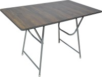 limraz furniture Engineered Wood 4 Seater Dining Table(Finish Color - Brown)