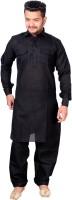 Slks India Craft Men Pathani Suit Set