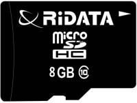 Ridata 8gbclass10 8 GB MicroSDHC Class 10 70 MB/s  Memory Card