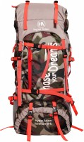 Hyper Adam 65 L TRAVEL BACKPACK FOR OUTDOOR SPORT HIKING TREKKING BAG CAMPING RUCKSACK Rucksack  - 64 L(Multicolor)