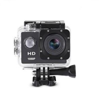 Mezire Action Shot HD 1080P Action Camera WiFi Camera 2-inch LCD 170 Degre Wide an Lens Waterproof Diving Sports and Action Camera(Black, 12 MP) Sports and Action Camera(Black, 12 MP)